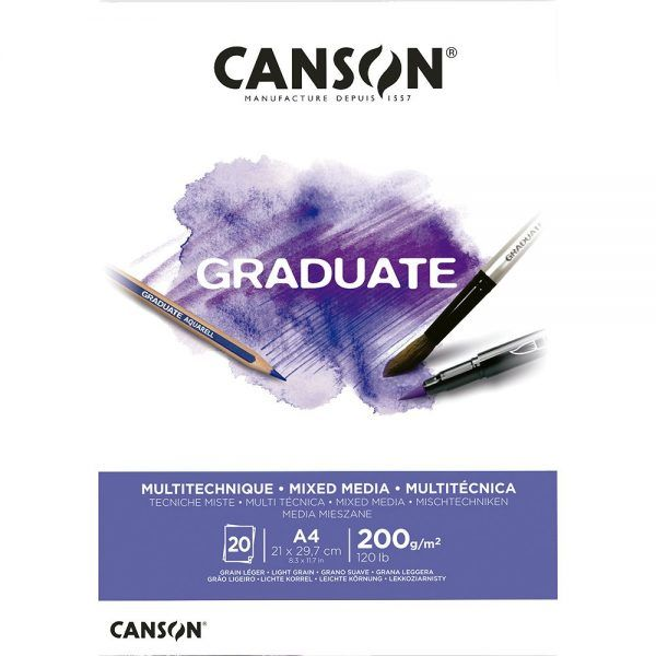 Papel Canson Mix media