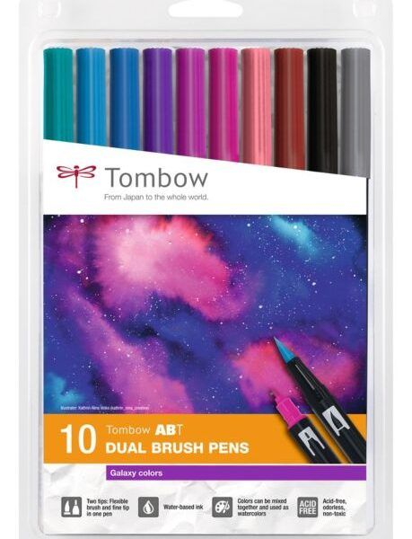 Rotuladores Tombow Galaxy colors